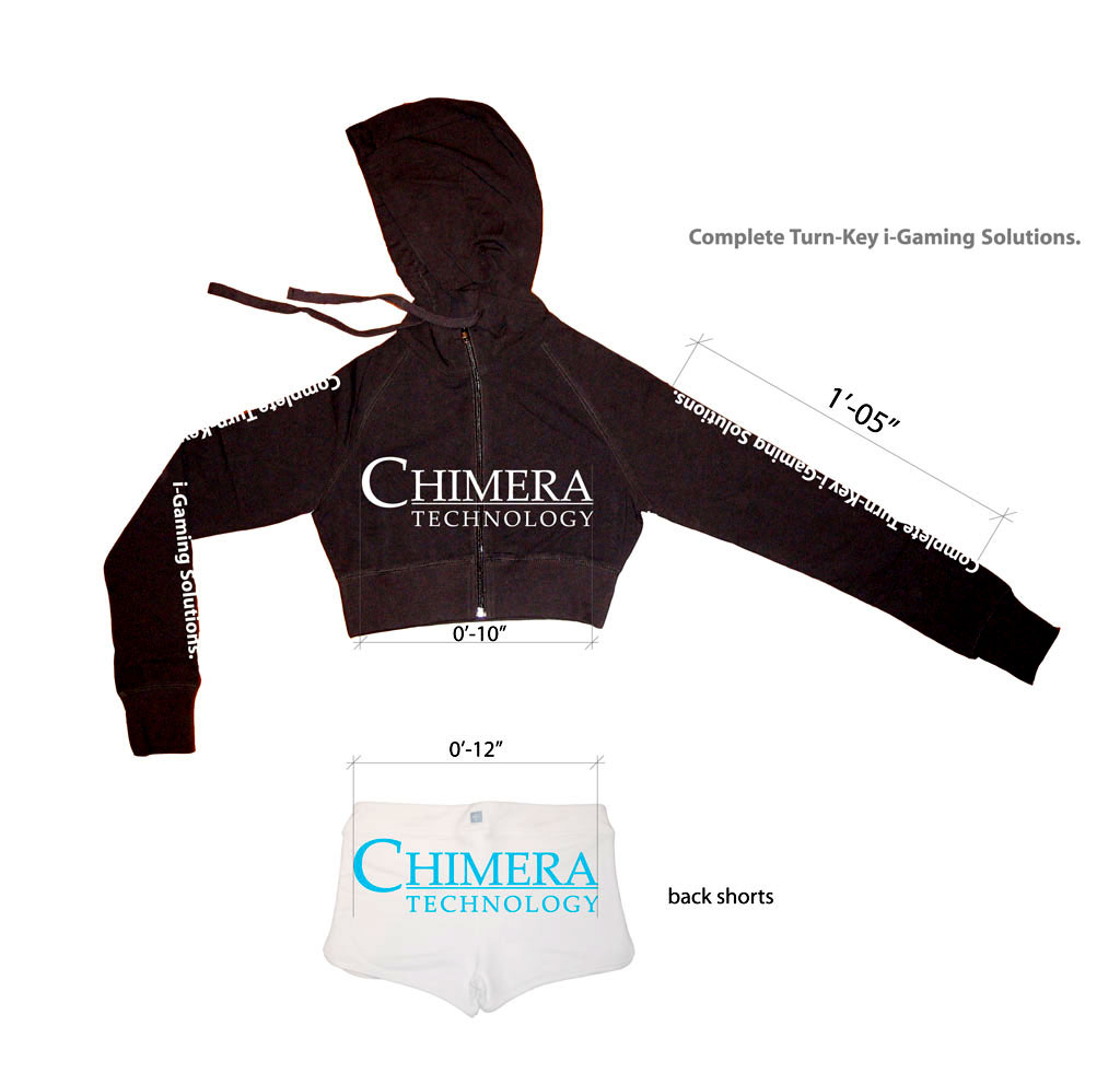 Chimera Spokesmodel Outfit Screenprint