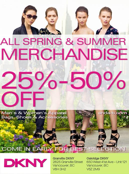 DKNY Summer Sale