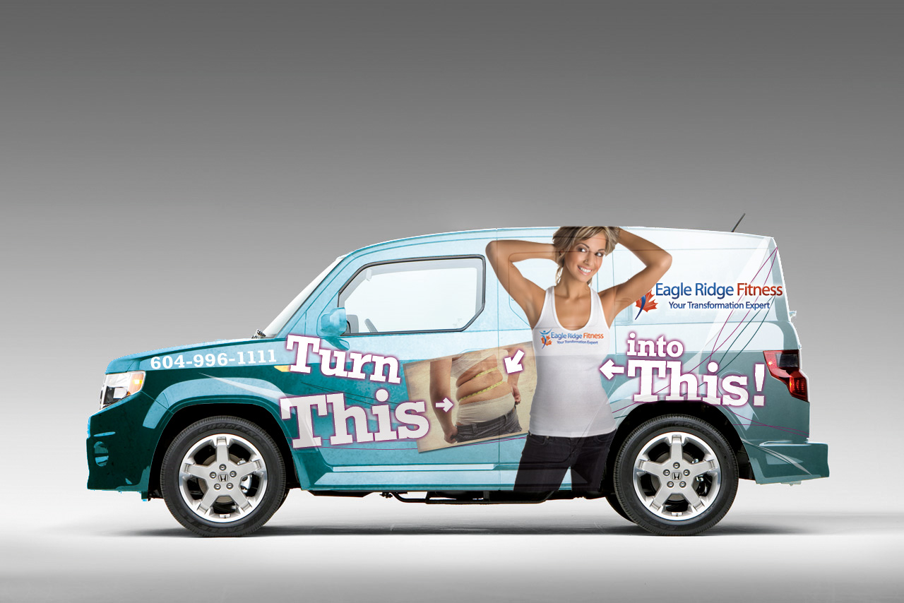 Eagle Ridge Fitness Vehicle Wrap