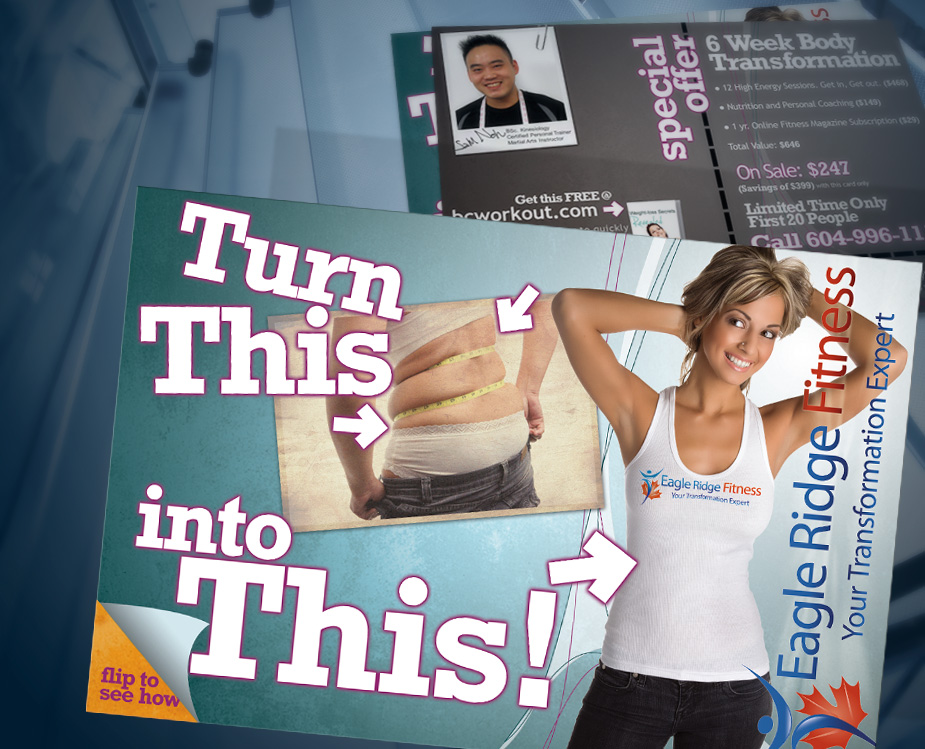 Eagle Ridge Fitness - Turn This into This! Campaign