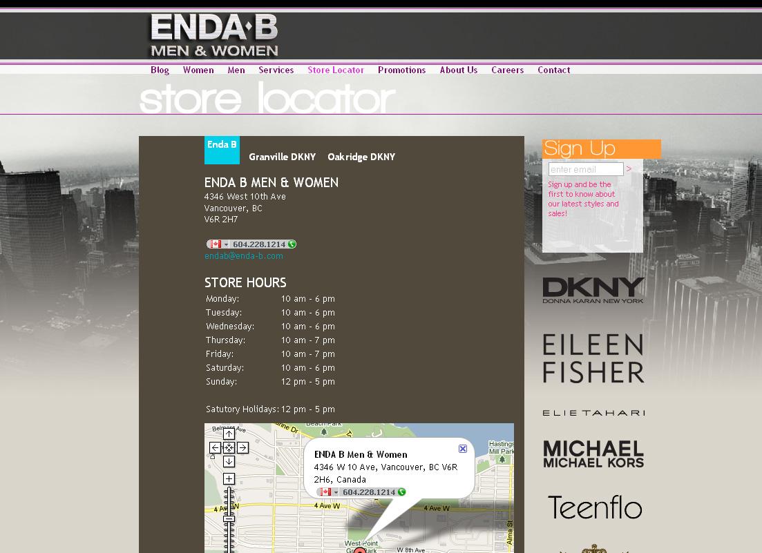 Enda B screenshot