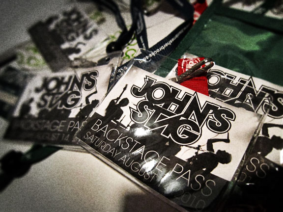 John's Stag Backstage Pass