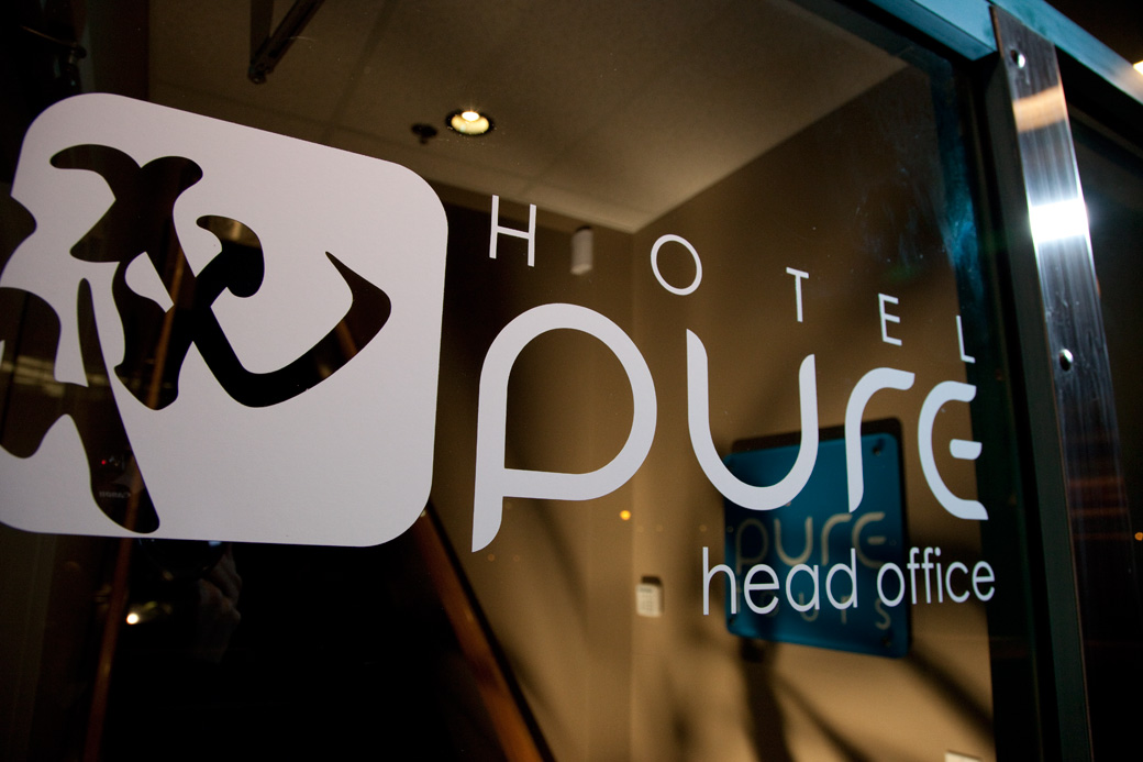 Hotel PURE Entrance