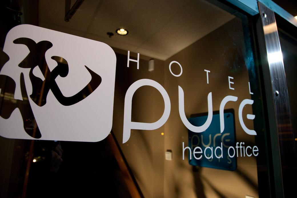 Hotel PURE Entrance